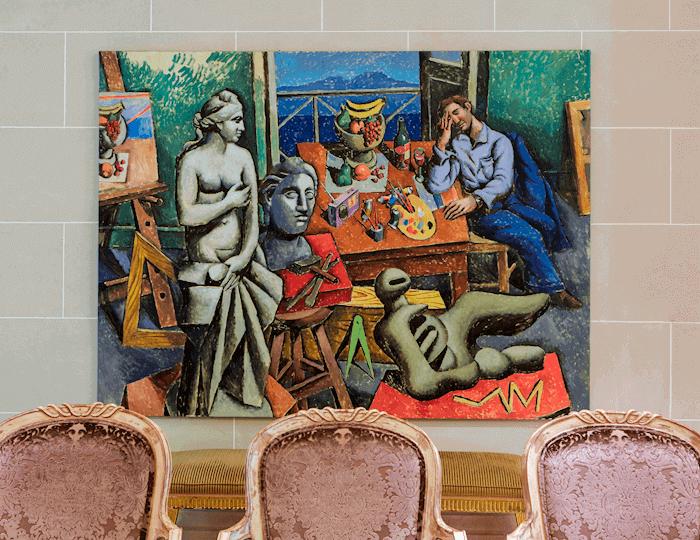 King George Lobby Art